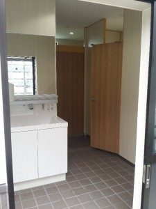 休憩所のトイレ